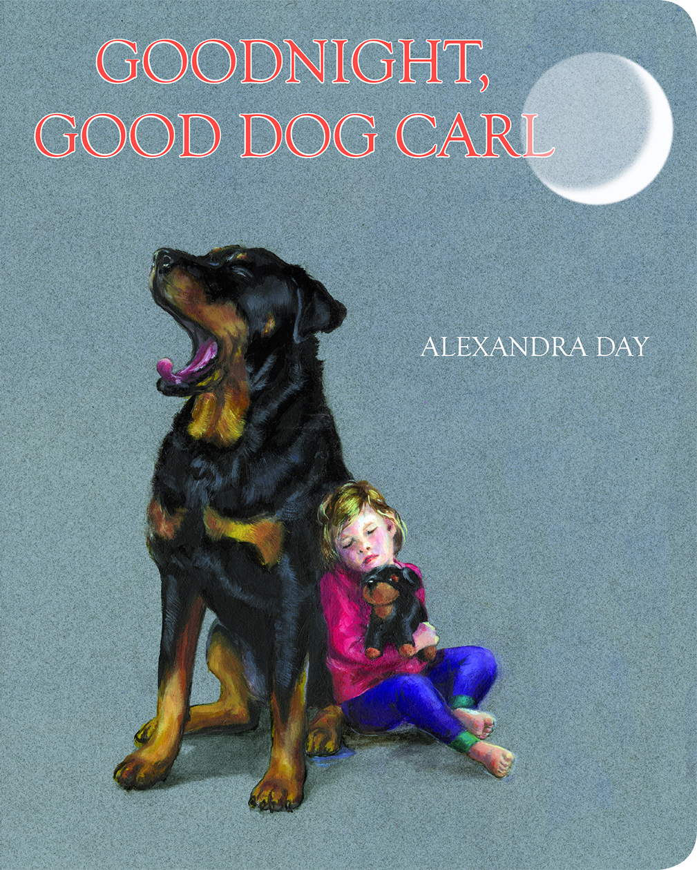 """Good Night, Good Dog Carl"" cover by Alexandra Day"