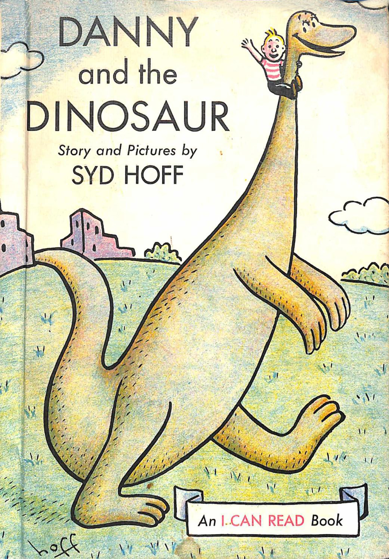 """Danny the Dinosaur,"" vintage children's book by Syd Hoff"