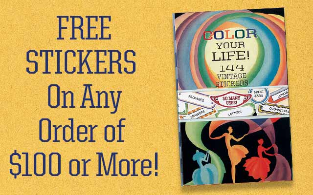 Free Book On Any Order of $100 or More!