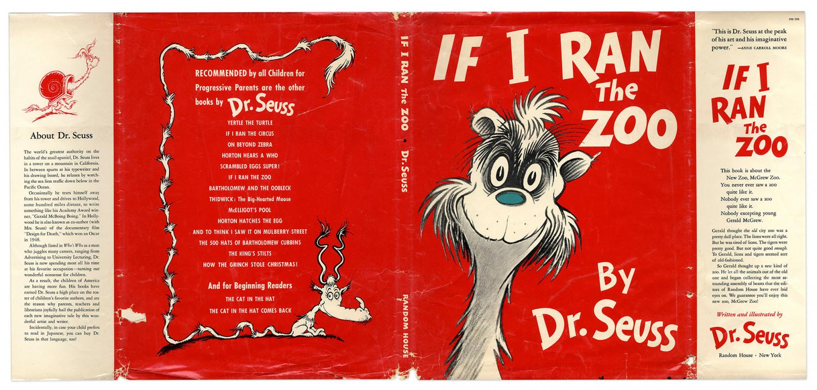 If I Ran the Zoo by Dr. Suess