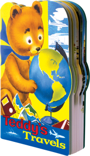 Teddy's Travels (Shaped Children's Books)