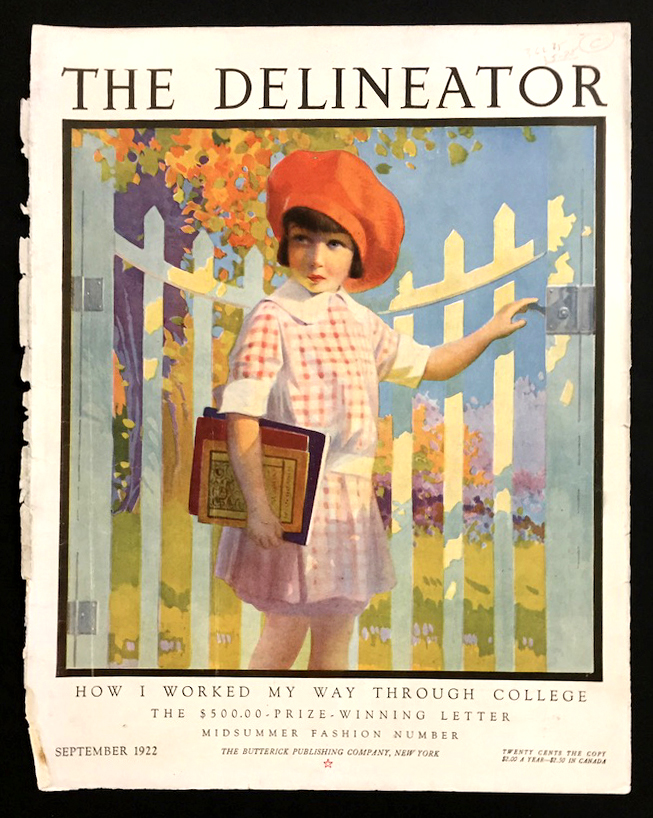 Delineator Back-to-School Cover