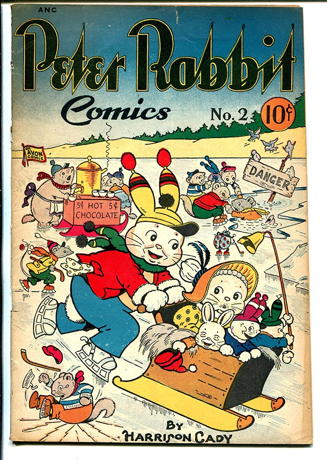 Peter Rabbit Comics Cover by Harrison Cady